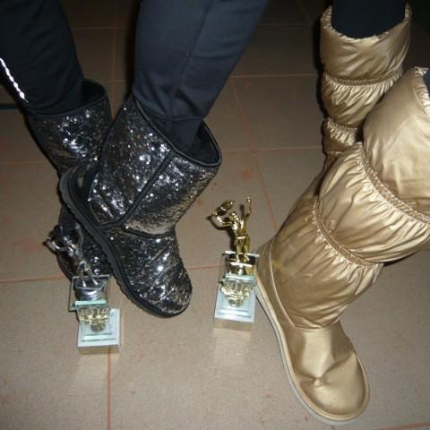 IV Turniej Kobiet 29.11.2014- Jakie buty taka wygrana :)